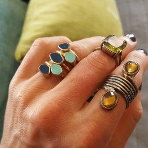 Beautiful assortment of rings